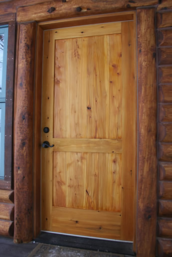Nothing sets a home apart like a custom handcrafted wooden entrance door from Turtle River Millwork. The durable beauty of natural solid wood creates a look ... & Exterior Doors - Turtle River Millwork