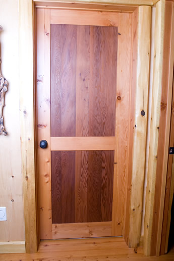 the beauty and durability of a handcrafted solid natural wood door will transform an ordinary room into a truly special interior space