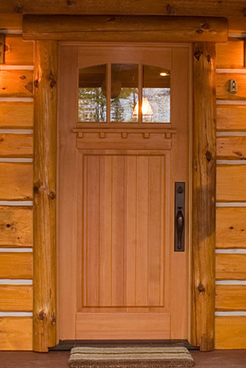 Handcrafted Wood Doors Turtle River Millwork